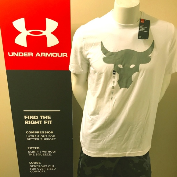 aa8be194342 Under Armour Men s Project Rock T-Shirt Loose Fit